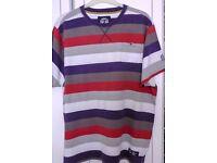 Mens Top Quality Round Neck Casual Shirt