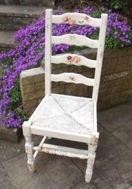 Beautiful Shabby Chic Pine Chair