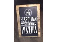 Pizza Chef- (Wood fired oven) needed ASAP