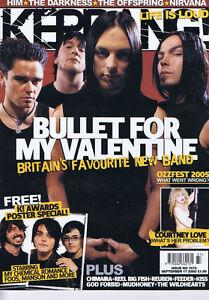 BULLET-FOR-MY-VALENTINE-COURTNEY-LOVE-Kerrang-No-1074-September-17-2005