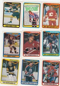 SERIE CARTE HOCKEY OPC 1990-91 (B151)