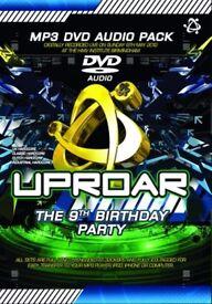 Uproar 9th Birthday MP3 Audio DVD Pack
