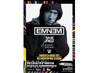 2 x tickets Eminem