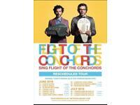2 Flight of conchords tickets Birmingham 26th June