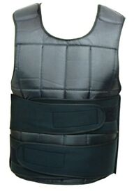 Weight Vest Adjustable Weight Training Vest 15kg NEW
