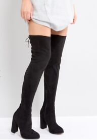 NEW Over Knee Womens Boots SHOES TKMX size 7 original price £69