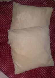 2 x cushions onlg 5 pounds