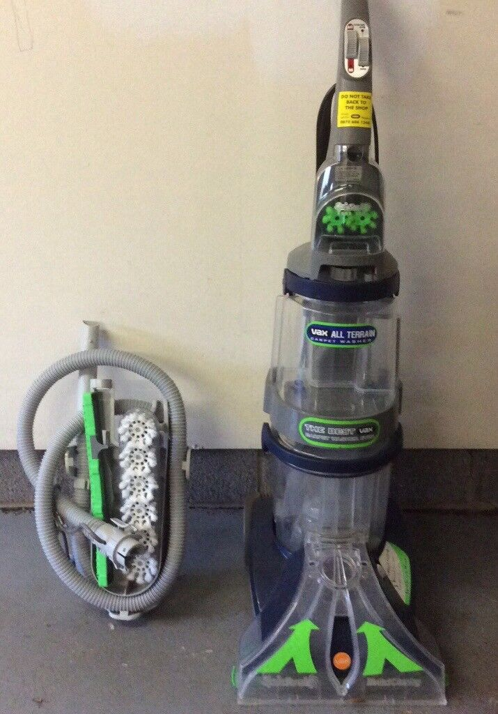 Vax V 125a All Terrain Upright Carpet Washer Instructions