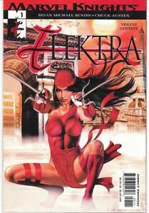 Elektra - Marvel Knights - 6 comics for $10