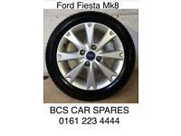 "Ford Fiesta alloy wheel. Inc tyre. 16"""