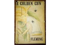 First Edition 1965 The Man With The Golden Gun by Ian Fleming