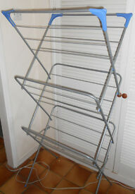 Folding Clothes Airer - Laundry Drying Rack - Clothes Horse