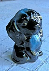 Blue Mountain Pottery Colbalt Blue Glaze Dog