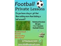 Football Private 1 to 1 Sessions
