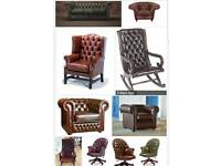 Chesterfield sofa / chairs WANTED
