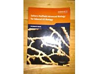 EDEXCEL BIOLOGY STUDY BOOKS - SALTERS NUFFIELD AS BIOLOGY STUDENTS BOOK & LONSDALE GCSE BIOLOGY
