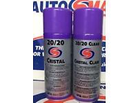 AUTOSMART 20/20 Cristal window spray on wipe off cleaner