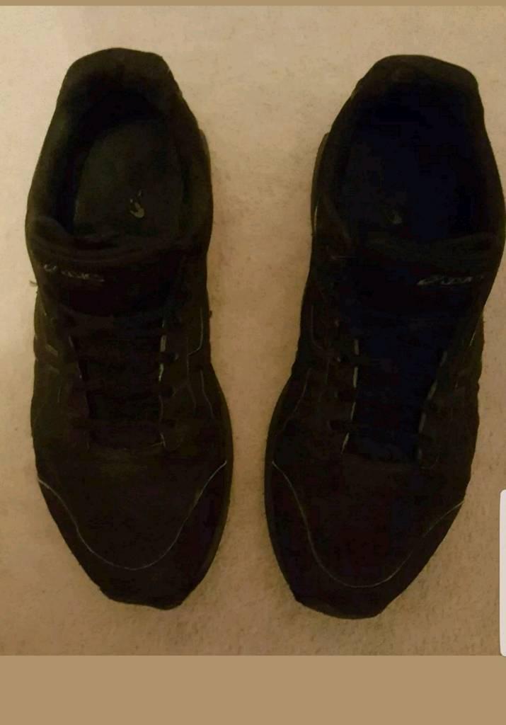 3eb3c1d68f59 Asics Gel Mission Mens Walking Trainers - Size 10 All Black