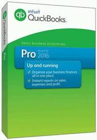 Quickbooks Pro 2016 Full Version For Windows/Mac