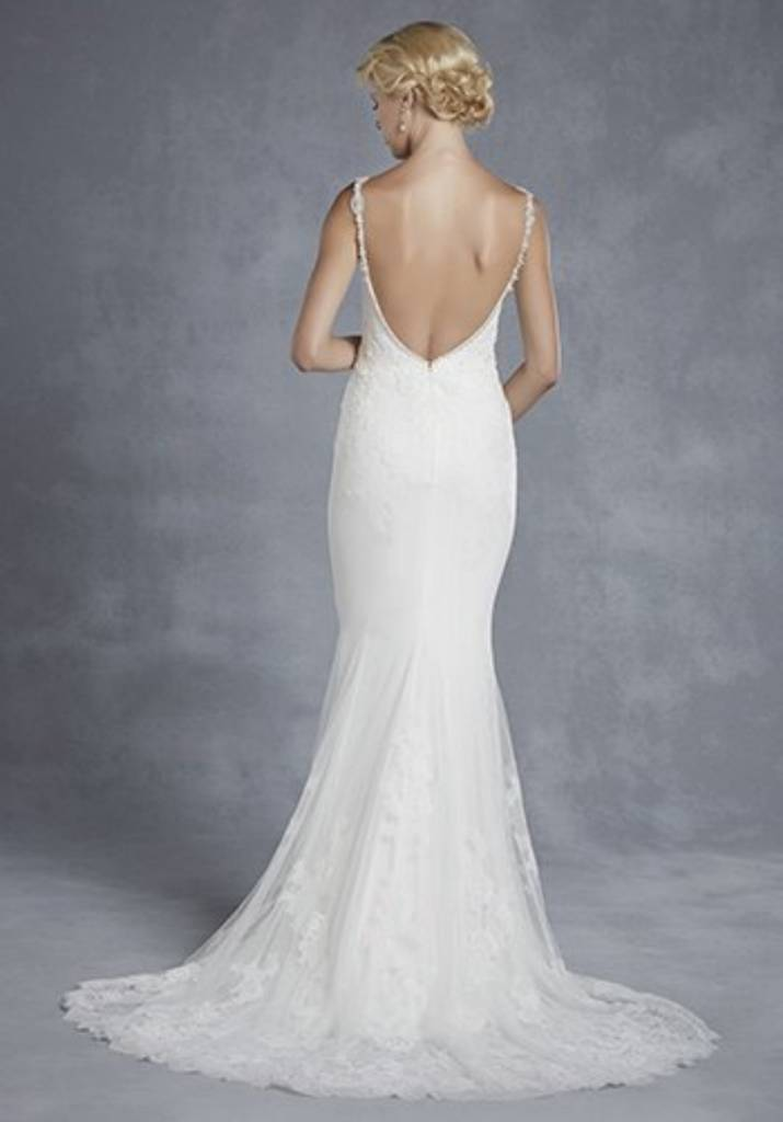 Enzoani wedding dress size 12 with tags