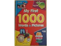 My first 1000 words & pictures baby book