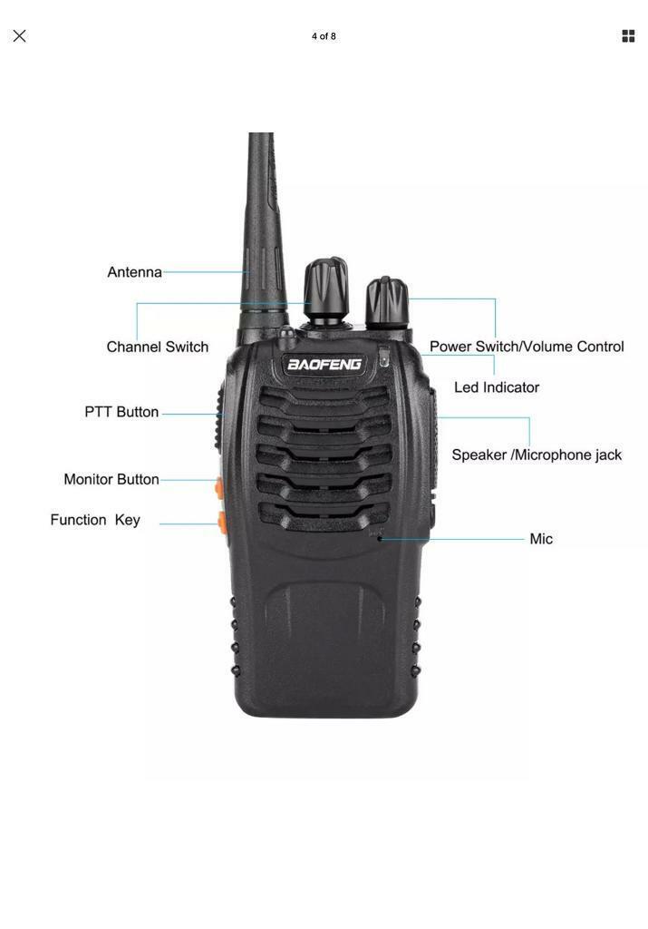 Baofeng walkie talkies | in Ottershaw, Surrey | Gumtree