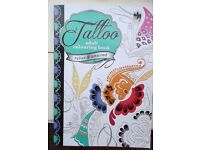 TATTOO ADULT COLOURING BOOK ~ ONLY £1.00