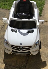 Children's 6v electric car Mercedes Benz with remote control