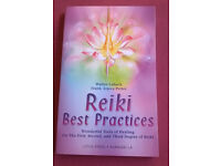 Reiki Best Practices by Walter Lubeck & Frank Arjava Petter- tools 1, 2 & 3 Reiki Degree excellent
