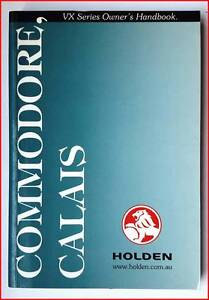 Holden Commodore ⁄ Calais VX Series Used Owners Handbook Bonnyrigg Heights Fairfield Area Preview
