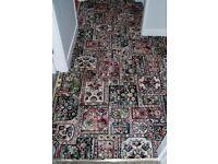 Axminster carpet stair carpet