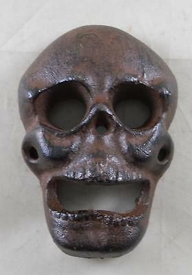 Cast Iron Wall Mounted Skull Bottle Opener Kitchen Pub Bar Beer Opener Bars
