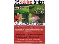 CPS - Garden Maintenance - Jet Washing - Grass Cutting - Panel Painting - Hedge Trimming
