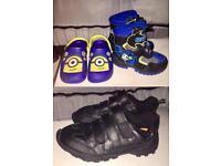 Boys Shoes Minions Batman School UK9 & UK2