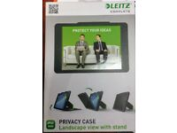 Job Lot 17 x iPad Black Mini Privacy Case with Stand LEITZ Brand new in original sealed packaging