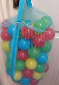 Approx 100 balls