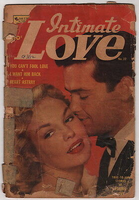 Dick Giordano Collection Personal Copy Intimate Love #22 1953 Romance Comic