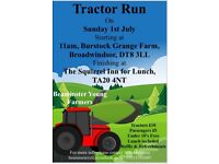Beaminster YFC Tractor Run