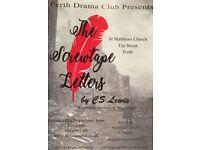 Perth Drama Club. Screwtape letters. C.S.Lewis.