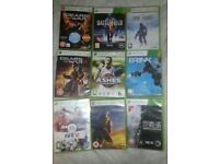 9 x Xbox 360 Games. £2.50 Each or all 9 for only £15 No Offers.