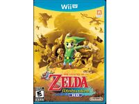 Wii U with Super Mario Maker and The Legend of Zelda: Wind Waker