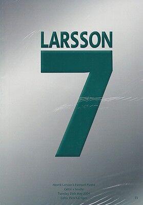 * HENRIK LARRSON TESTIMONIAL PROGRAMME - CELTIC v SEVILLA 2004 *