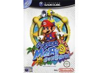 Super Mario Sunshine WANTED for Nintendo GameCube