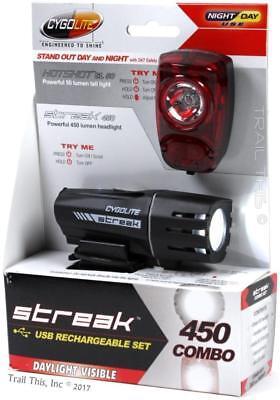 streak 450 headlight and hotshot sl50 taillight