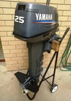 2003 - 25hp Yamaha - long shaft