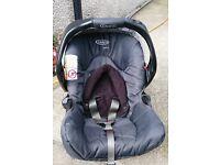 3 in1 Pram - Stroller, Junior Baby Car Seat and Soft Travel Cot Graco Quattro Tour Deluxe