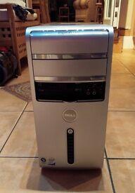 Dell Inspiron 530 Desktop - Intel Core 2 Quad/AMD HD6450 1GB/4GB RAM/500GB HDD