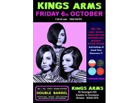 FRIDAY 6th OCTOBER - 60s 70s SOUL / REGGAE / MOTOWN with DOUBLE BARREL – EASTON in GORDANO
