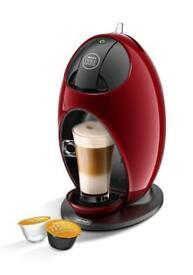 De'Longhi Nescafé Dolce Gusto Jovia Manual Coffee Machine EDG250.R - Red