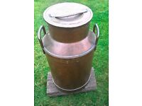 COPPER MILK CHURN FOR SALE
